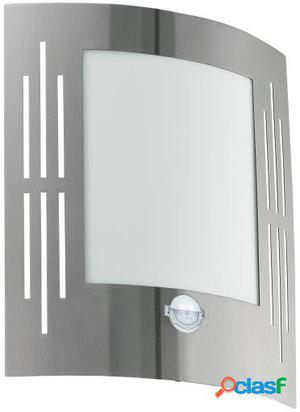 Wellindal Pláfon exterior 1 luz Acero inoxidable con Sensor