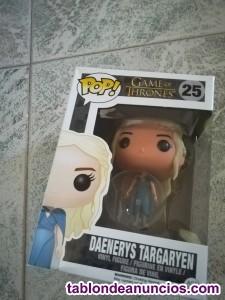 Figura funko pop! daenerys targaryen (vestido azul) - juego