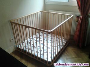 Parque-cuna madera lucy geuther