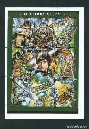 SELLOS MALI  Star Wars El retorno del Jedi