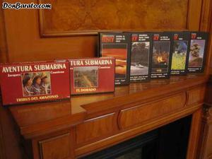 200 cintas de video originales t.