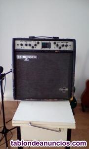 Vendo amplificador de guitarra behringer