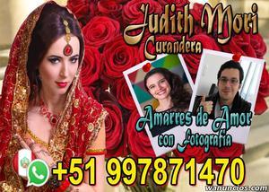 AMARRES DE AMOR CON FOTOGRAFÍAS JUDITH MORI +