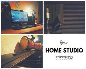 Home Estudio De Grabacion En Barcelona