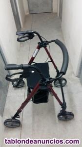 Andador convertible en silla de ruedas nueva