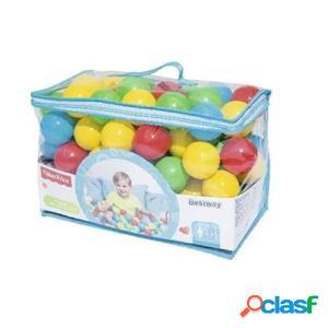 Bestway Piscina de bolas Fisher Price 100 unidades 6,5 cm