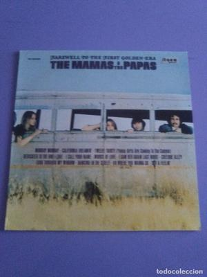 GENIAL LP. THE MAMAS & THE PAPAS. FAREWELL TO THE FIRST