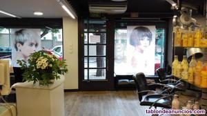 Traspaso salon de peluqueria y estetica