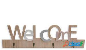 Wellindal colgador llaves welcome