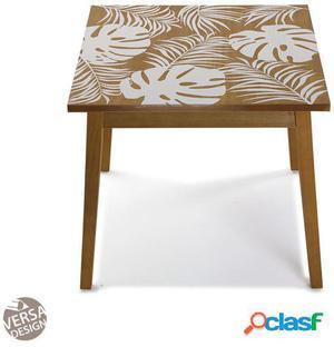 Wellindal mesa de madera new leaves