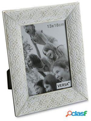 Wellindal portafotos blanco viejo 13x18