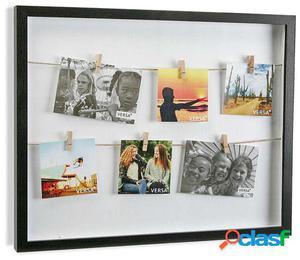 Wellindal portafotos con pinzas ng 40x50