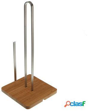 Wellindal portarrollos con base bambu