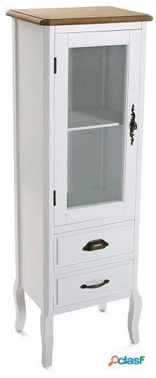 Wellindal vitrina 2 cajones+puerta asis