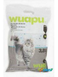 Wuapu Gel de Sílice para Gatos 3.8 l