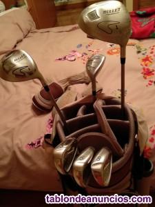 Bolsa y palos de mujer para golf o pitch and putt