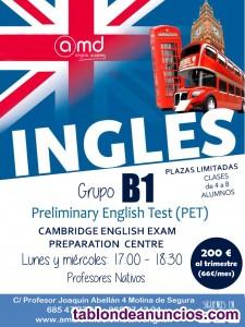 Clases de inglés para preparar exámenes oficiales de