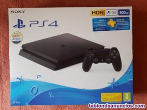 Sony playstation 4 (ps4) slim 500 gb negra