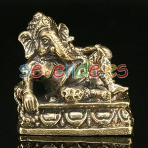 Ganesh Bronce Tumbado 25 x 28 x 11 Cm Aprox