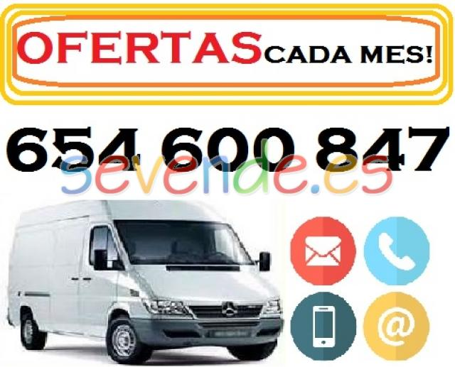ANUNCIOS MUDANZAS OFERTAS  PORTES