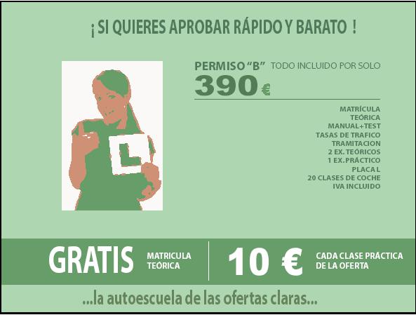 Autoescuela Granada Kilometro 0 ofertas y precios claros -