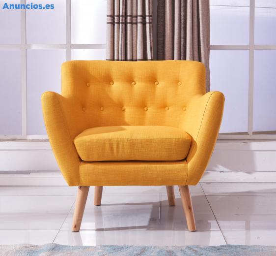 Butacas De Estilo NóRdico En Color Rosa, Amarillo, Azul