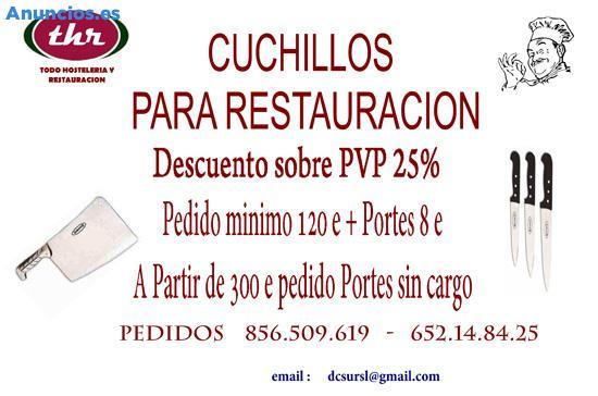 CUCHILLOS PROFESIONAL
