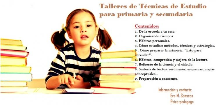 Clases de refuerzo y talleres educativos