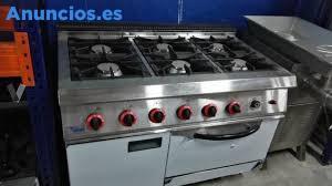 Cocina De 6 Fuegos Con Horno