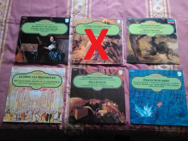 Coleccion Vinilos de Musica Clasica