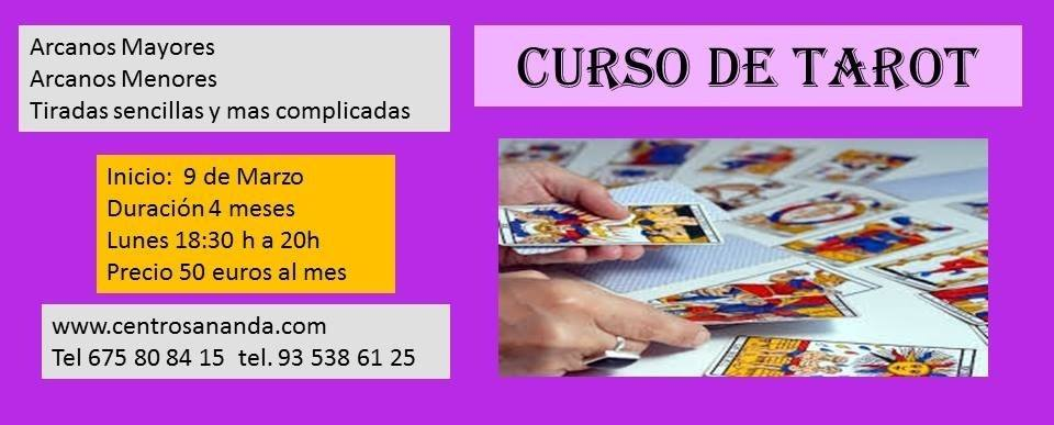Curso Tarot - Barcelona