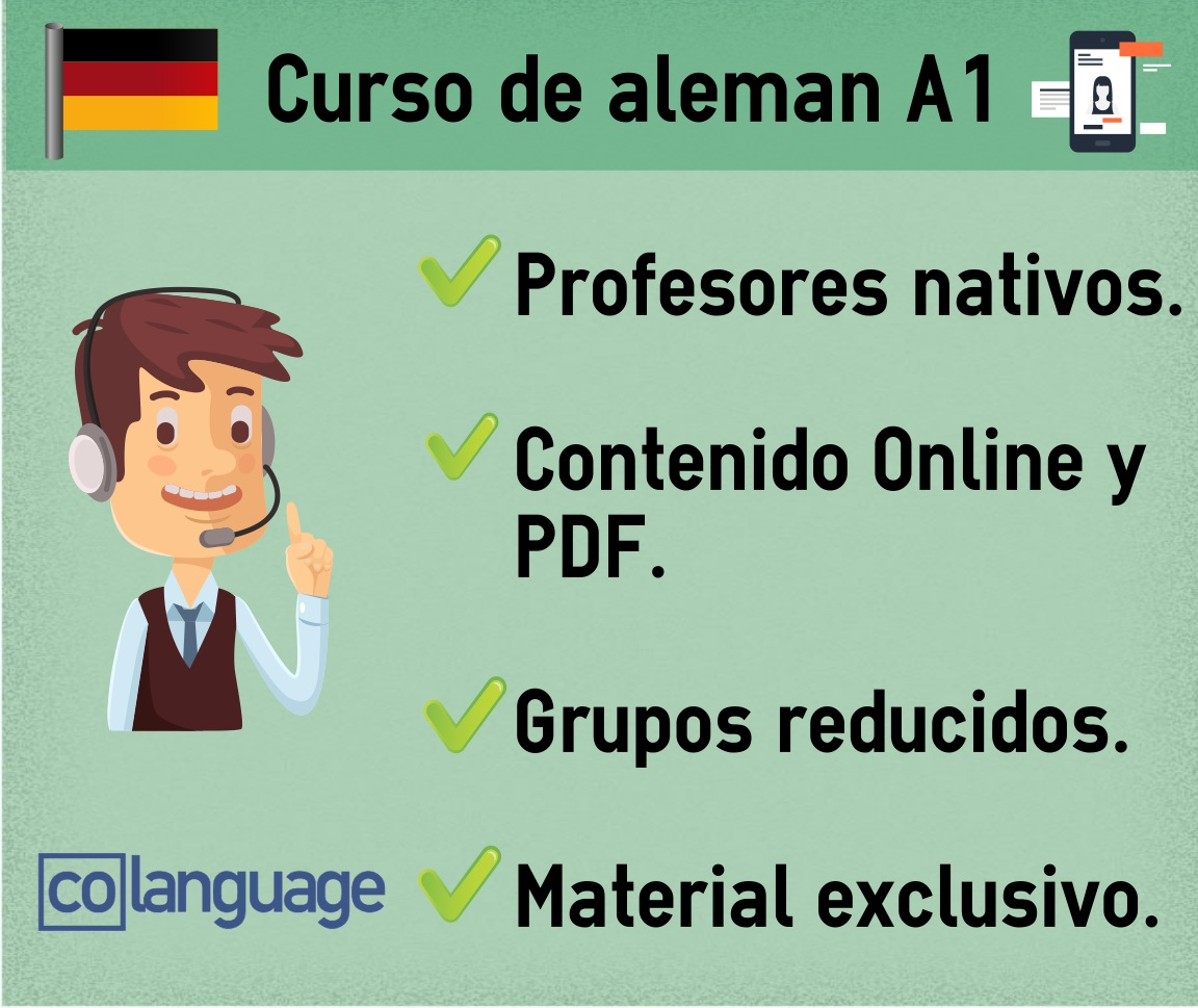 Curso de Alemán A1 Online. - Madrid
