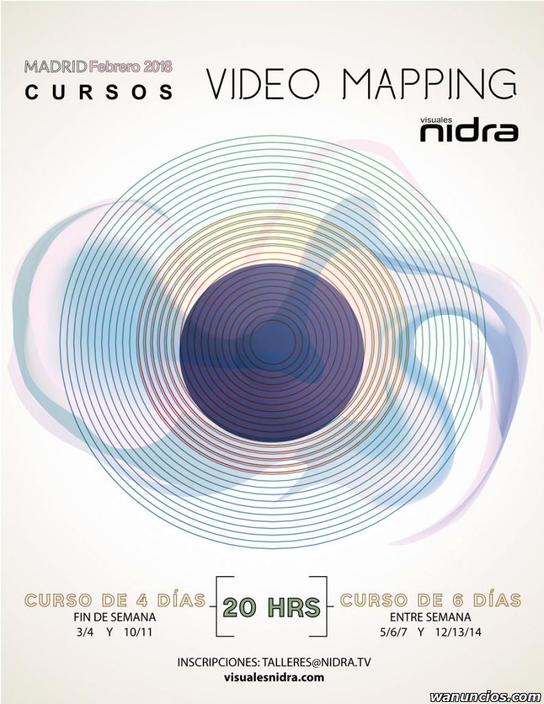 Curso de Mapping y Visuales - Madrid