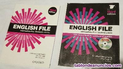 Libro y cuadernillo b2 english file intermediate plus