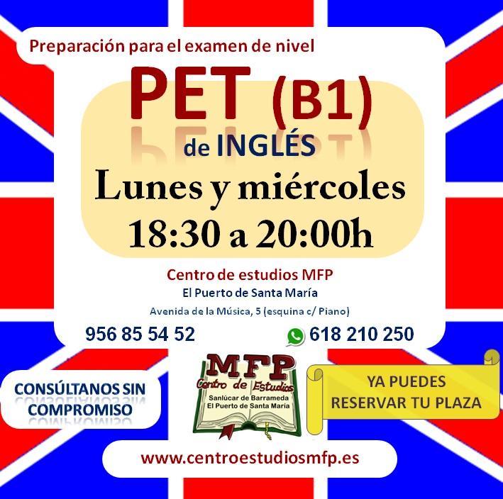 MFP Idiomas - Preparamos B1 de Inglés en El Puerto de Santa