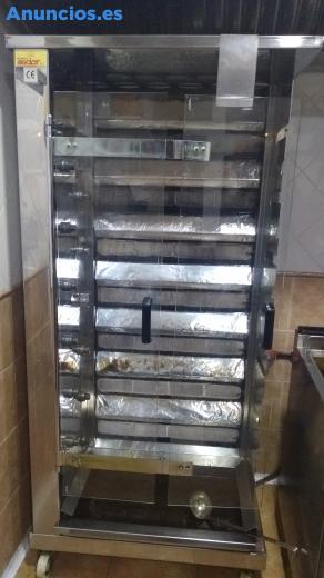 Maquina De Pollos Y Kebab