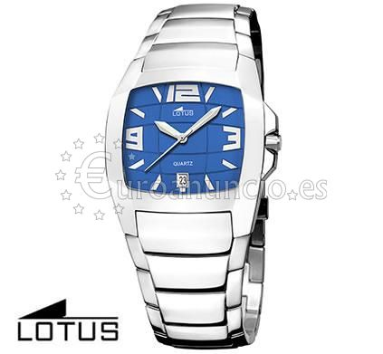 Reloj lotus shiny azul de mujer, en perfecto estado.Telefon
