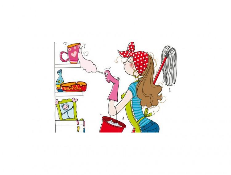 Señora se ofrece para trabajar en las tareas domésticas,