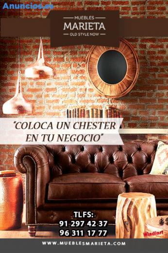 Sofas Chester Para Recepcion