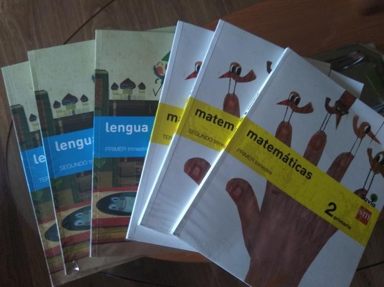 Vendo libros 2 primaria sm
