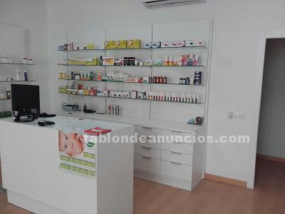 Vendo mobiliario farmacia