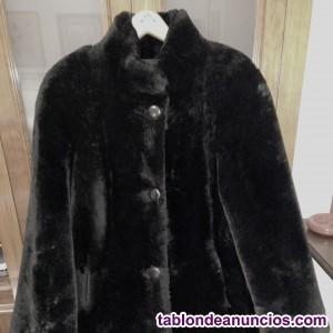 Abrigo de piel de mouton
