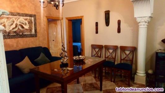 Mesa rectangular extensible de salón