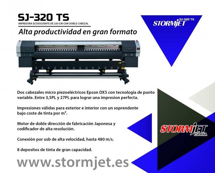 NUEVA impresora digital ecosolvente de 320 cm