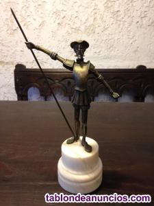 Preciosa estatua de bronce macizo del siglo xix