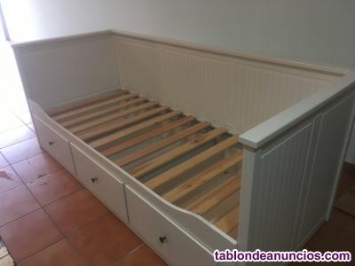 Vendo cama nido en buen estado blanca