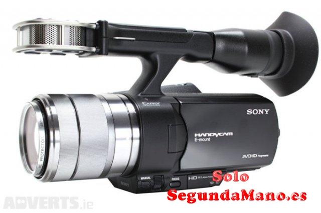 Vendo cámara de vídeo SONY NEX-VG20 en perfecto estado