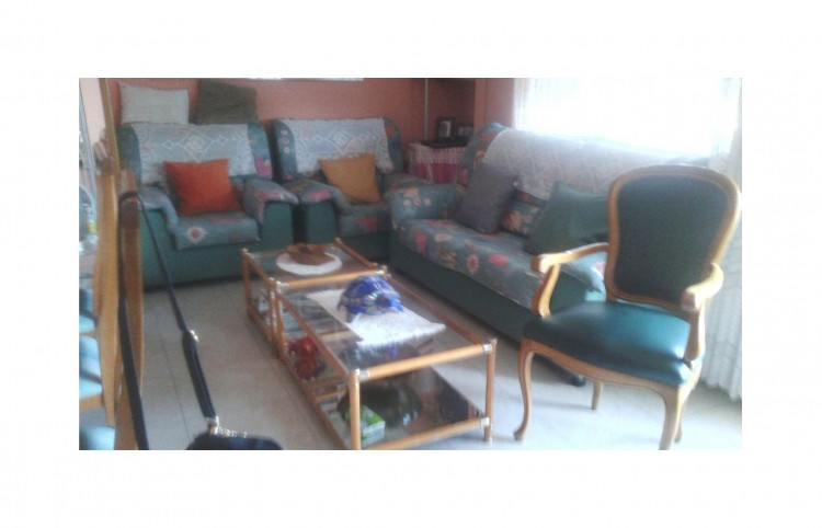 Vendo conjunto de sofá 3 plazas y 2 sillones