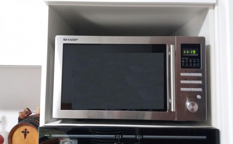 Vendo horno de microondas con grill