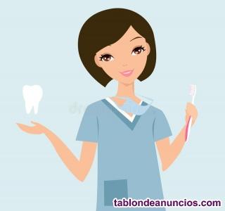 Se precisa auxiliar de clínica dental